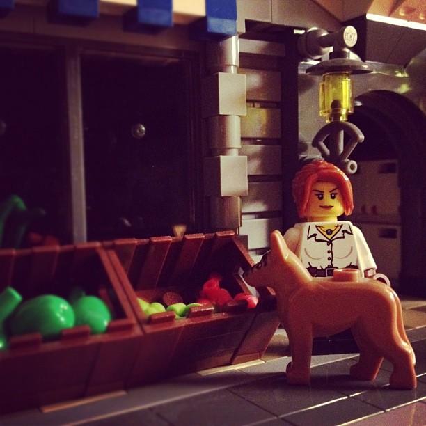 LegoGenre 00002: Lego Dog Walk