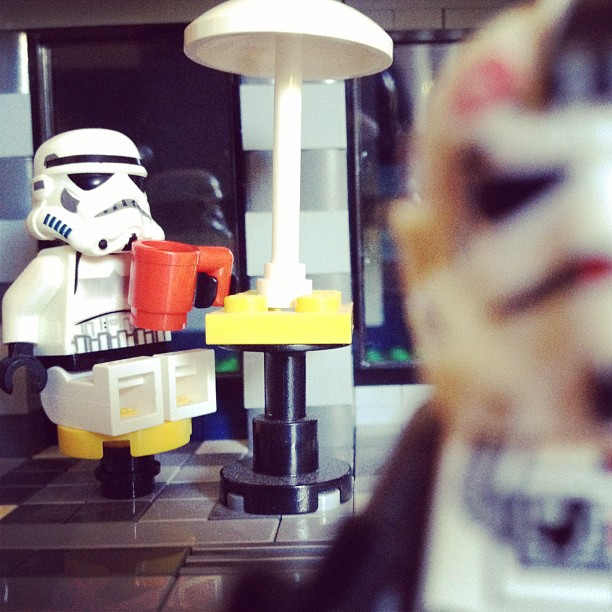 LegoGenre 00011: I Like My Coffee On The Darkside