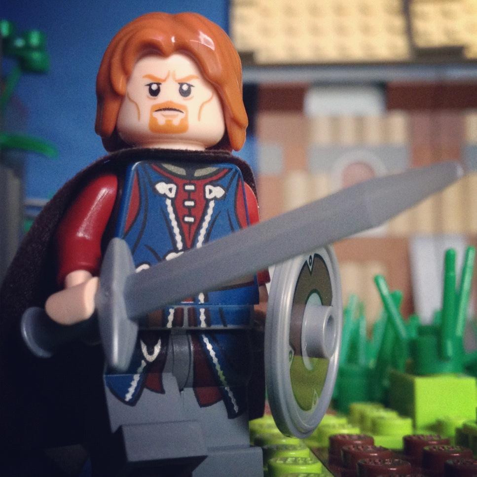 LegoGenre 00180: Boromir, Captain of the White Tower