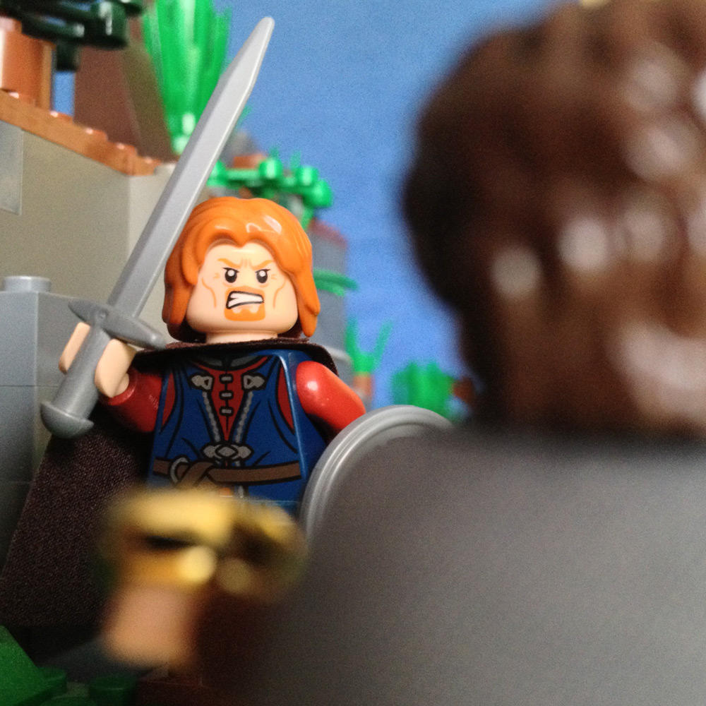 "LegoGenre 00181: ""It might have been mine. It should be mine. Give it to me!"""
