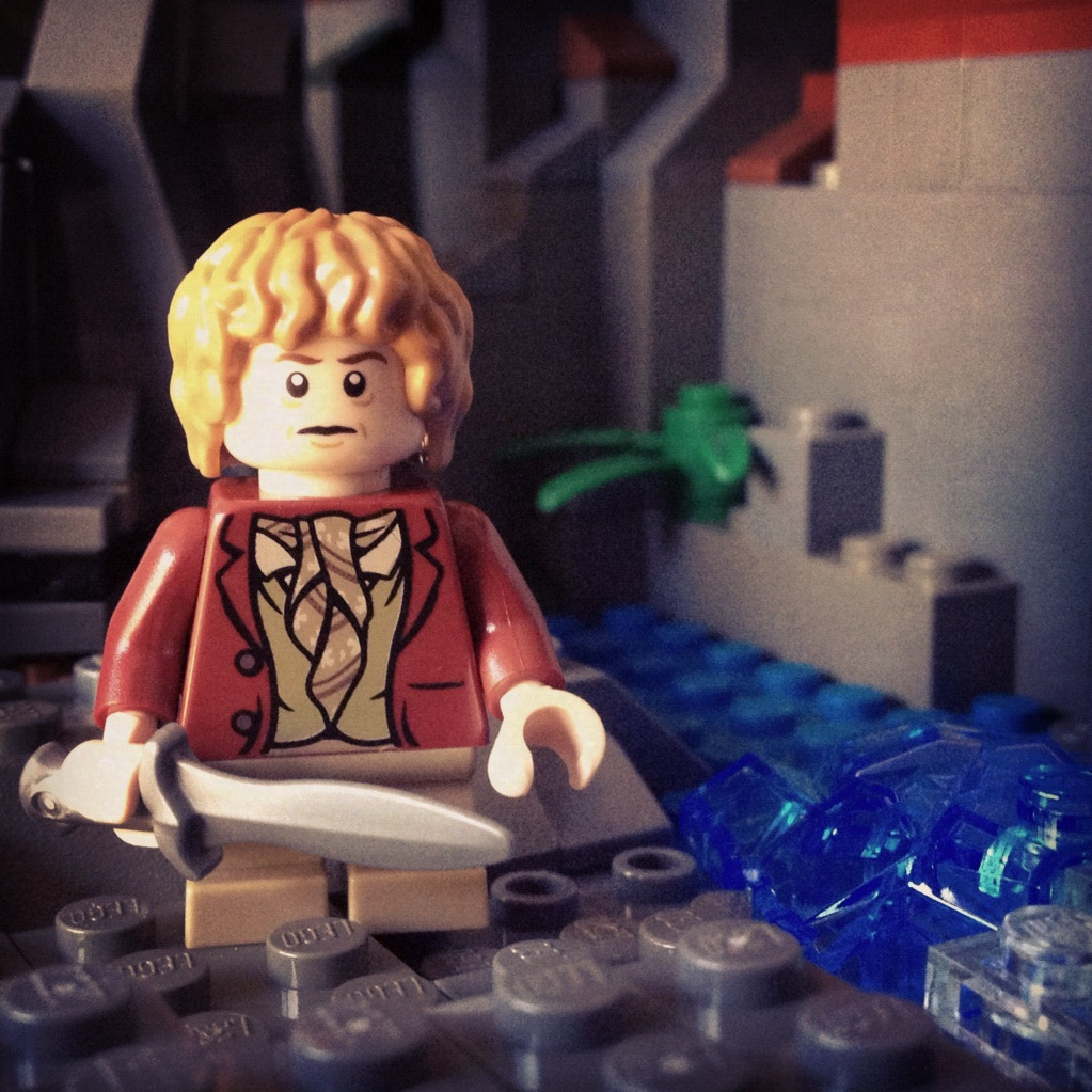 LegoGenre 00182: The Burglar, Bilbo Baggins.
