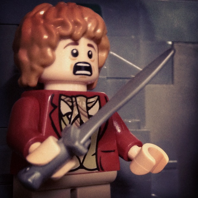 LegoGenre 00183: Lost In The Goblin Tunnels.