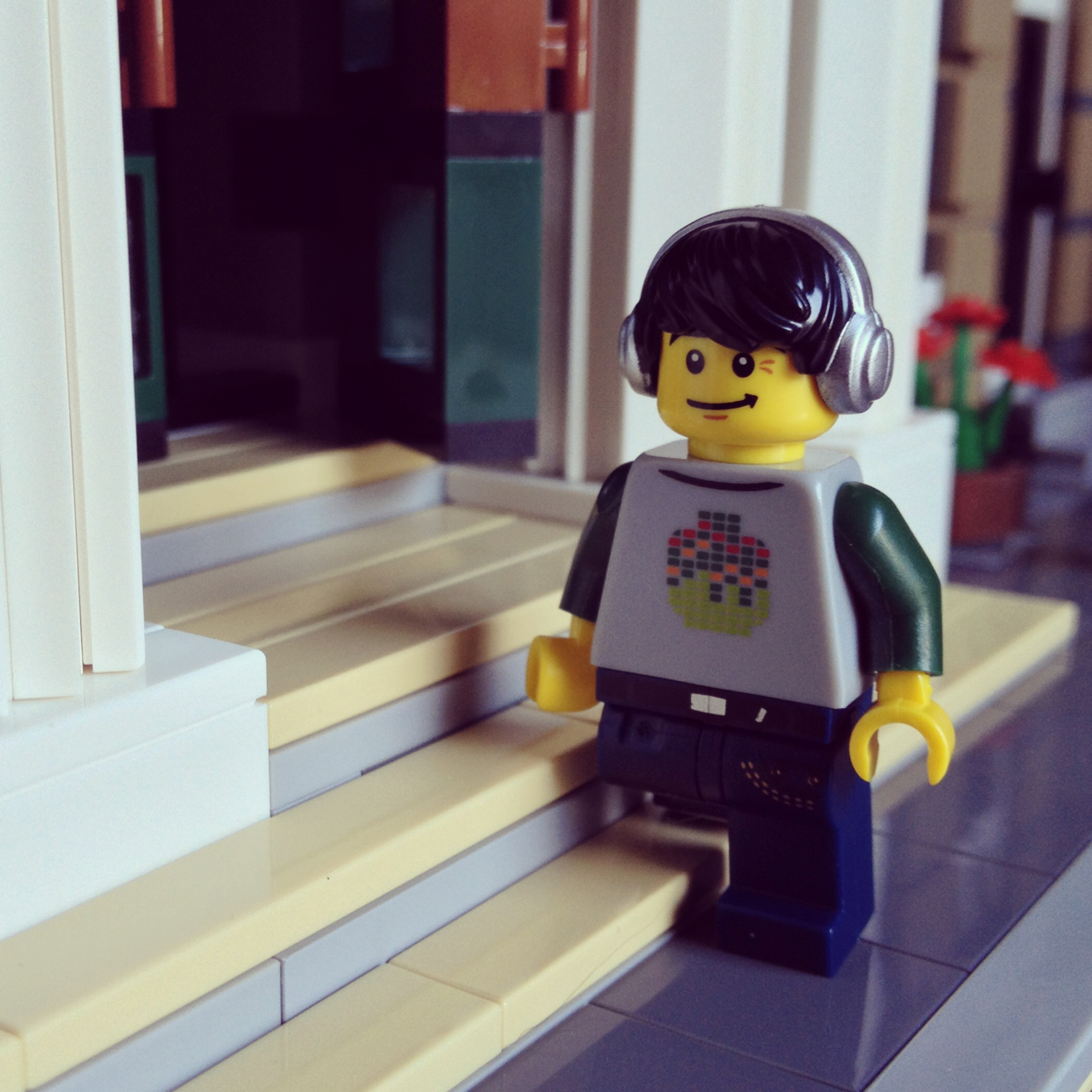 LegoGenre 00190: Walking To Work