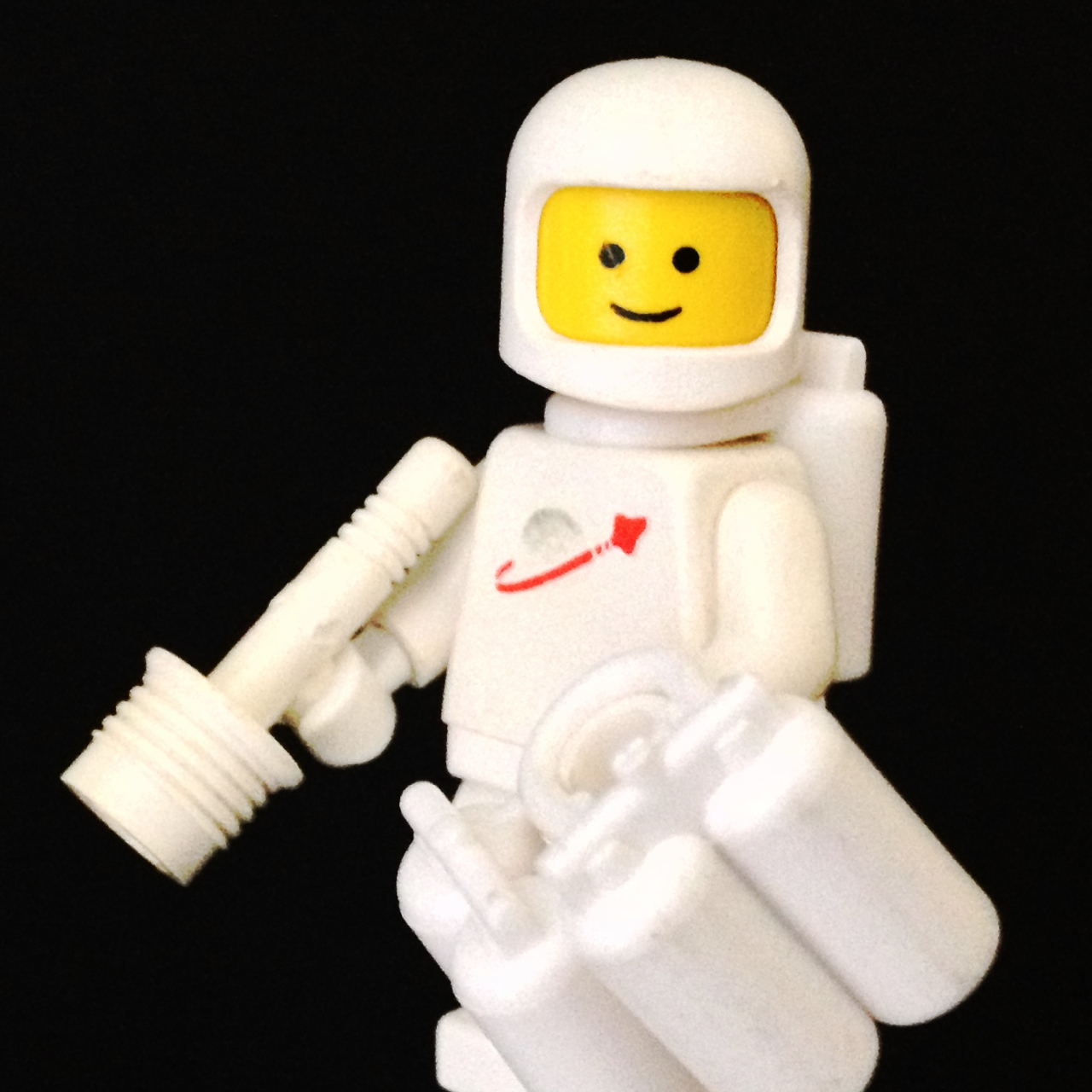 "LegoGenre 00223:  ""Doctor Spaceman White, Reporting For Duty."""