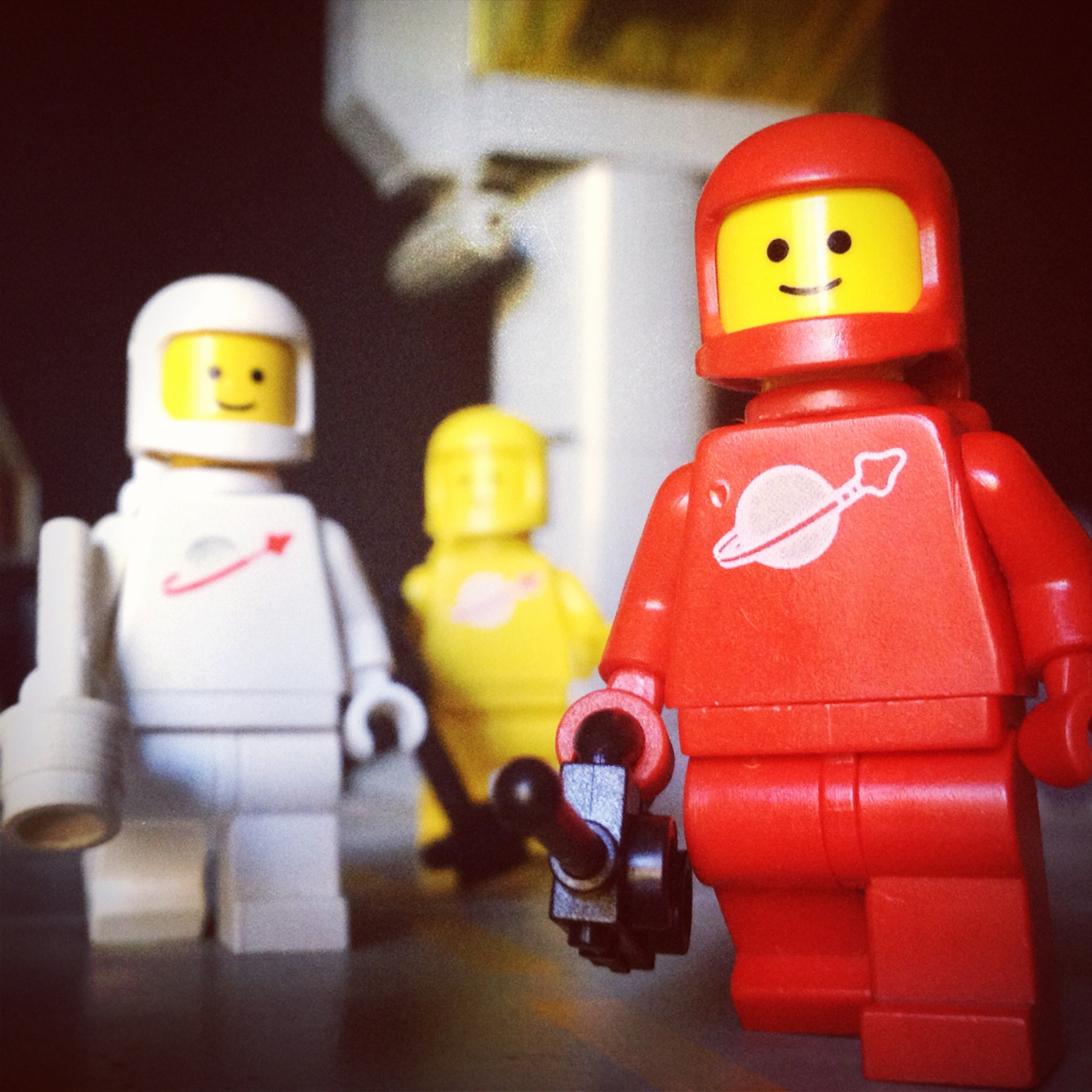 "LegoGenre 00224: ""Distress Call Recieved, Space Team 1 Responding."""