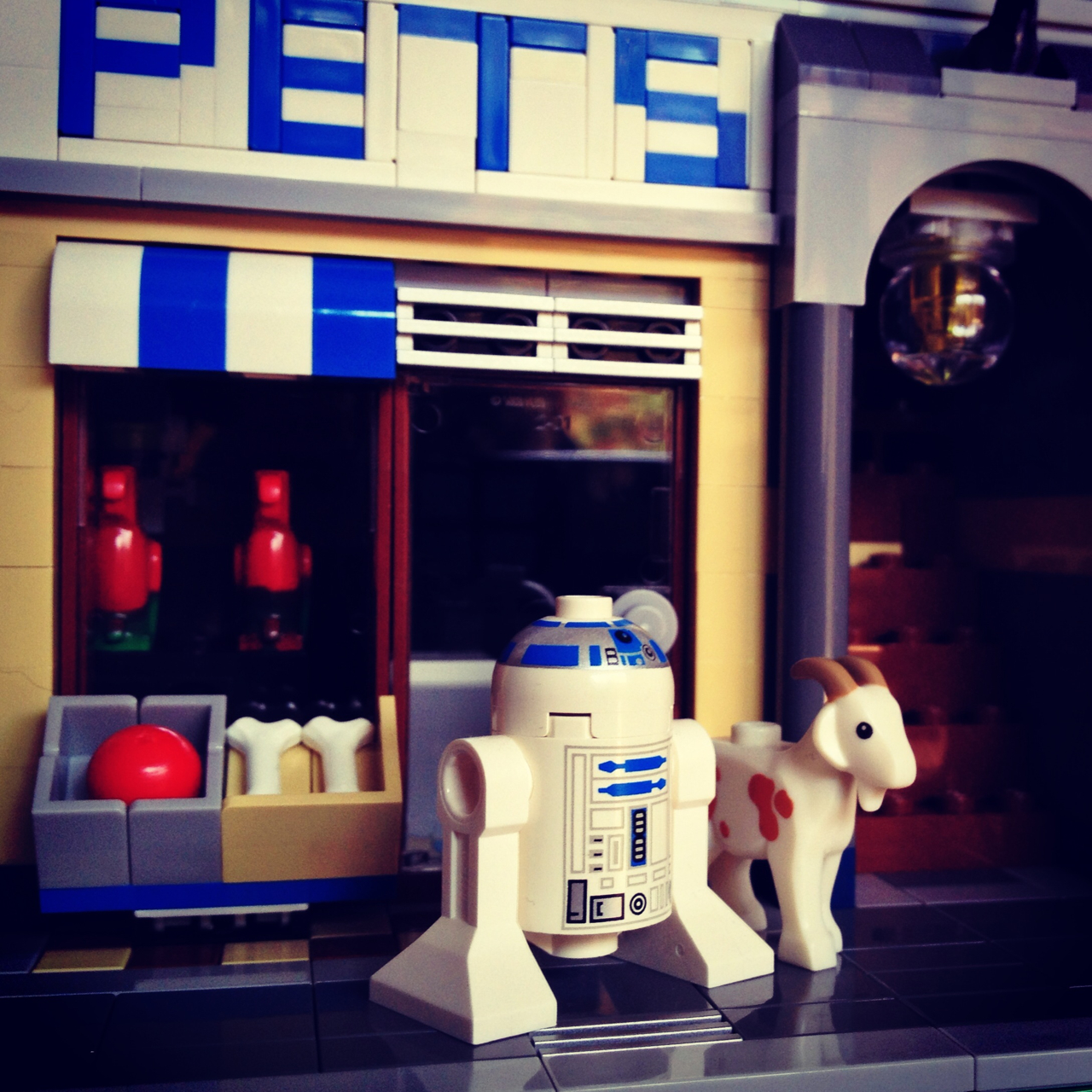 LegoGenre 00232: R2D2's New Pet.