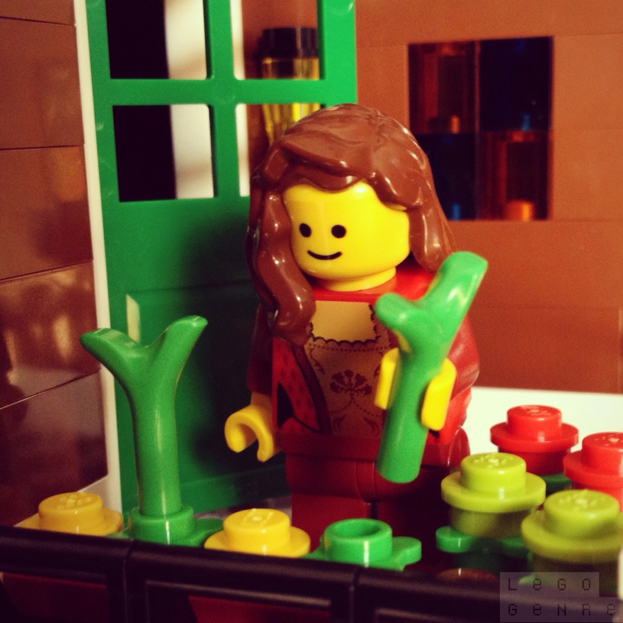 LegoGenre 00236: Springtime Gardening