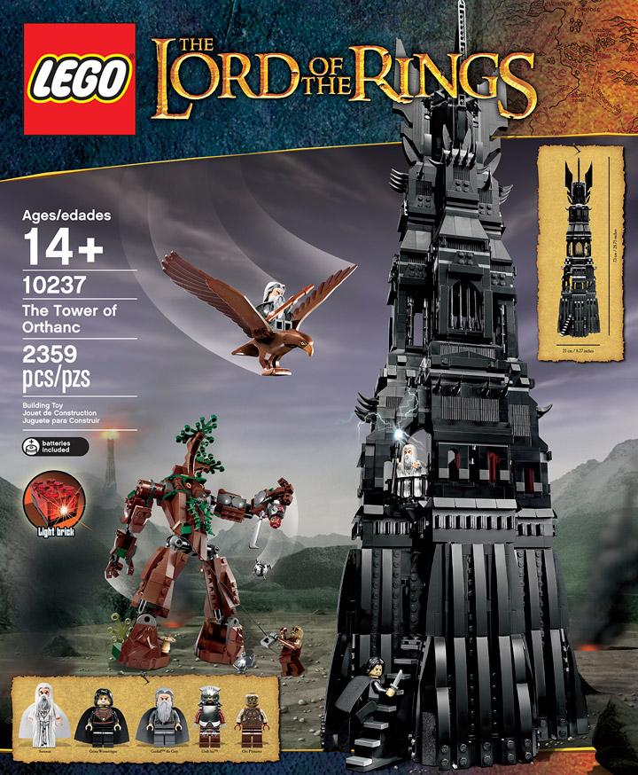 Lego Tower Of Orthanc, from Brickset