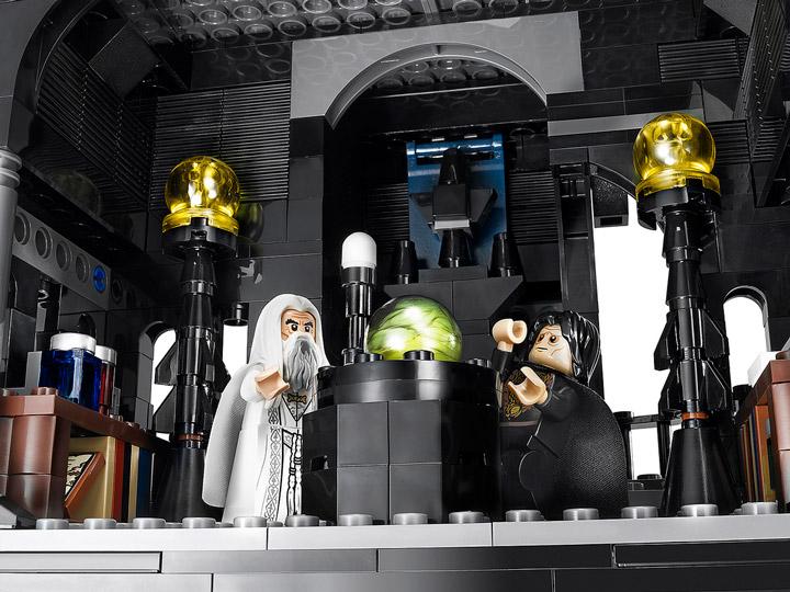 Lego Tower Of Orthanc Palantir from Brickset