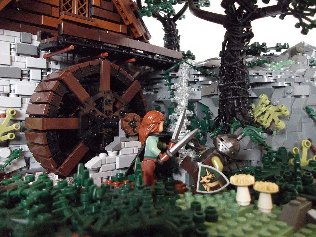 Derfel Cadarn's Darkmire Mill Detail