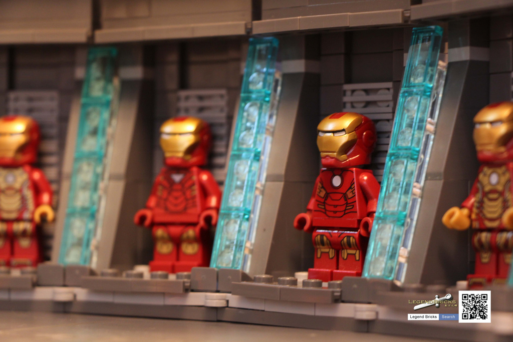 Jared Chan's Iron Man: Hall of Armor Detail