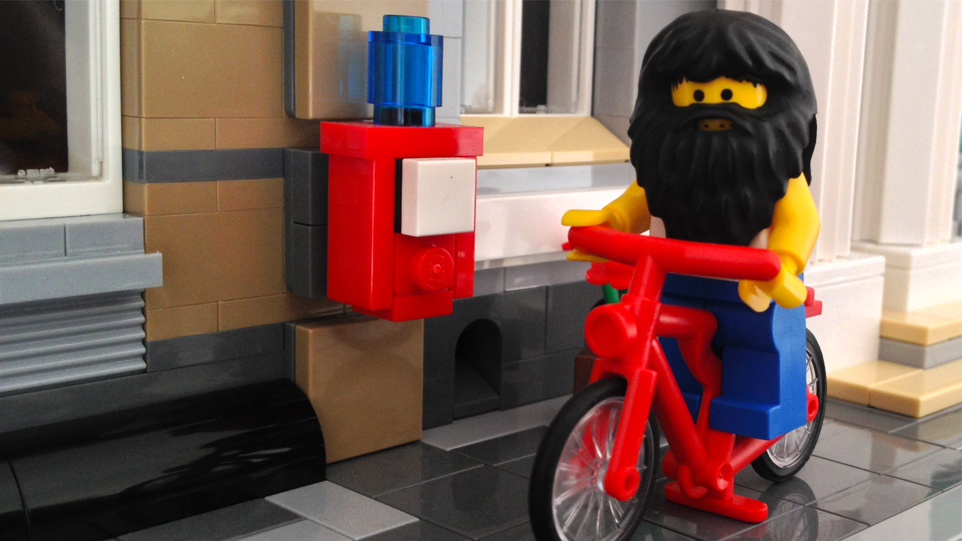 LegoGenre: Epic Beard Dude