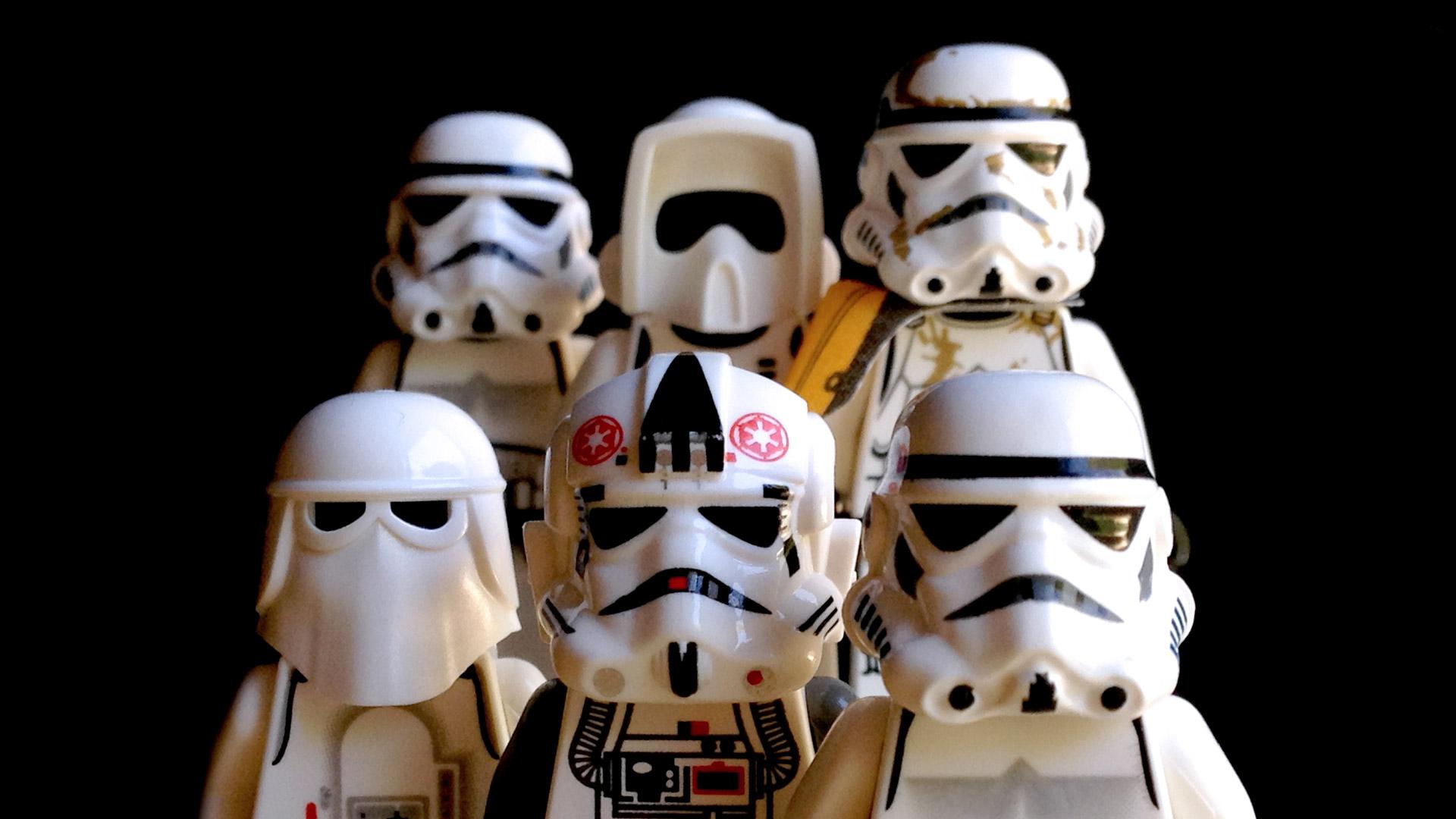 LegoGenre: Trooper Class Photo Wallpaper 1920x1080