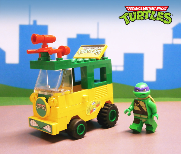 LegoJalex's Turtle Party Wagon (TMNT)