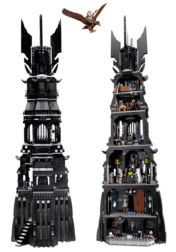 Lego Tower Of Orthanc Details