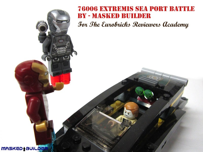 Masked Builder's Iron Man: Extremis Sea Port Battle Reviewed