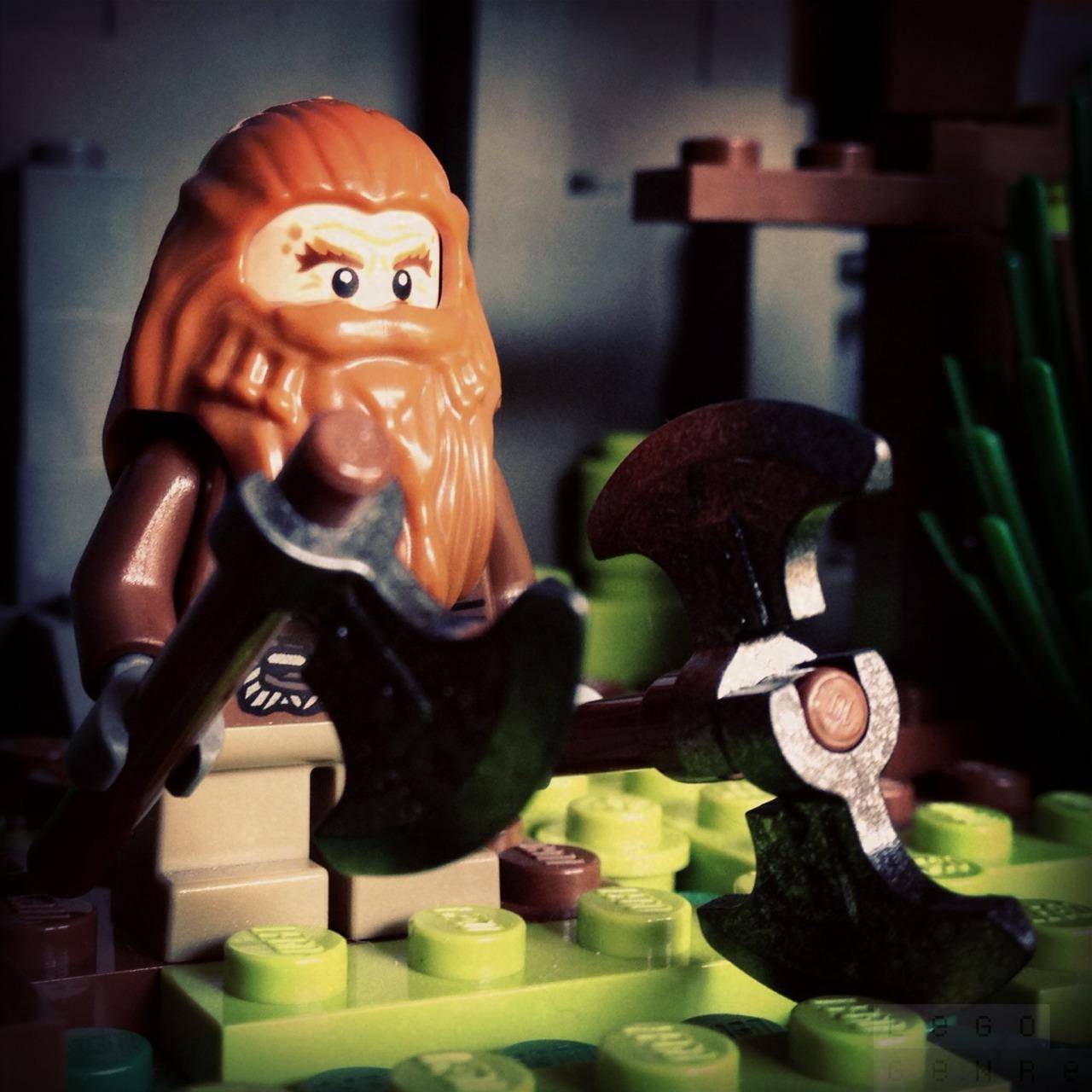 LegoGenre 00237: Glóin, Son Of Gróin, Brother Of Óin, Father Of Gimli