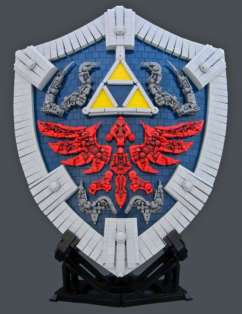 Bolt Of Blue's Hylian Shield from the Legend of Zelda
