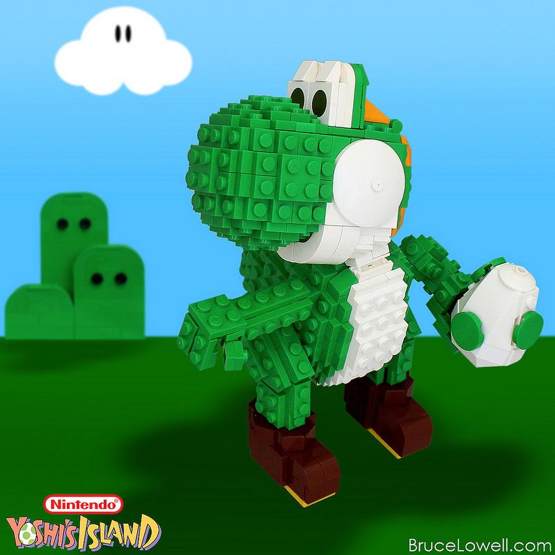 Bruce Lowell's Lego Yoshi