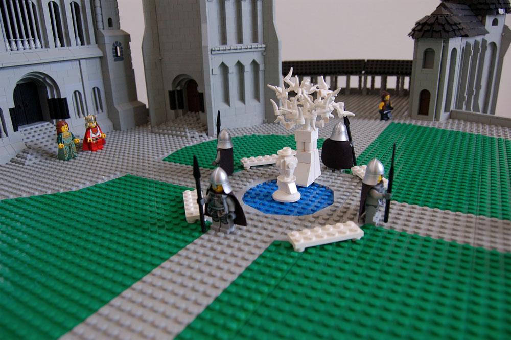 Chairudo's LOTR Minas Tirith 3