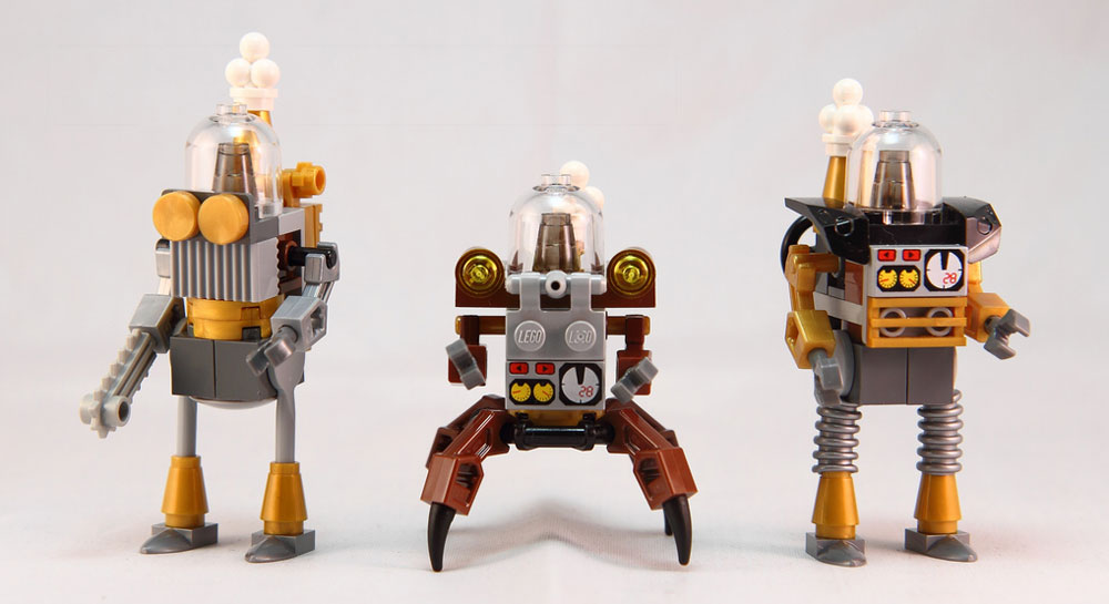 CptBrick's Steam-Bots: The Steampunk Robot
