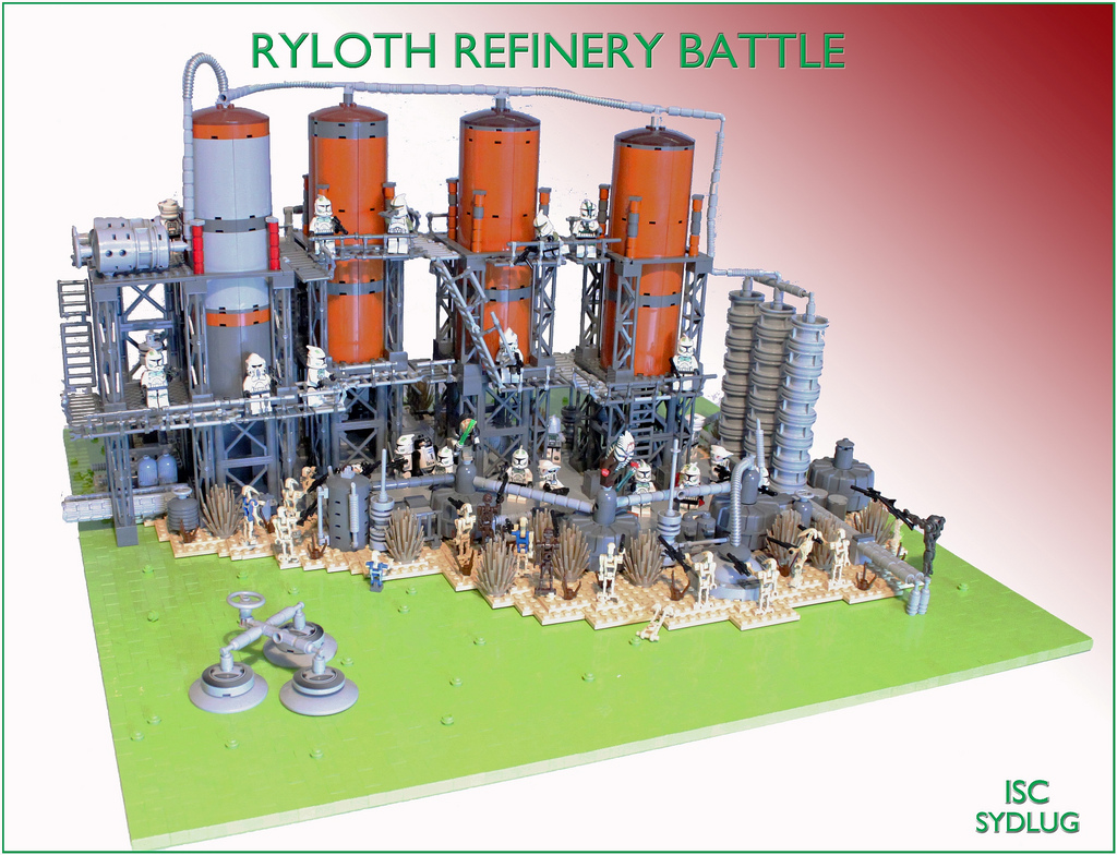 I Scream Clone's Ryloth Refinery Battle
