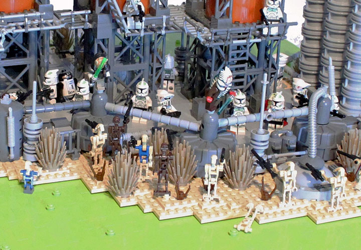 I Scream Clone's Ryloth Refinery Battle Detail