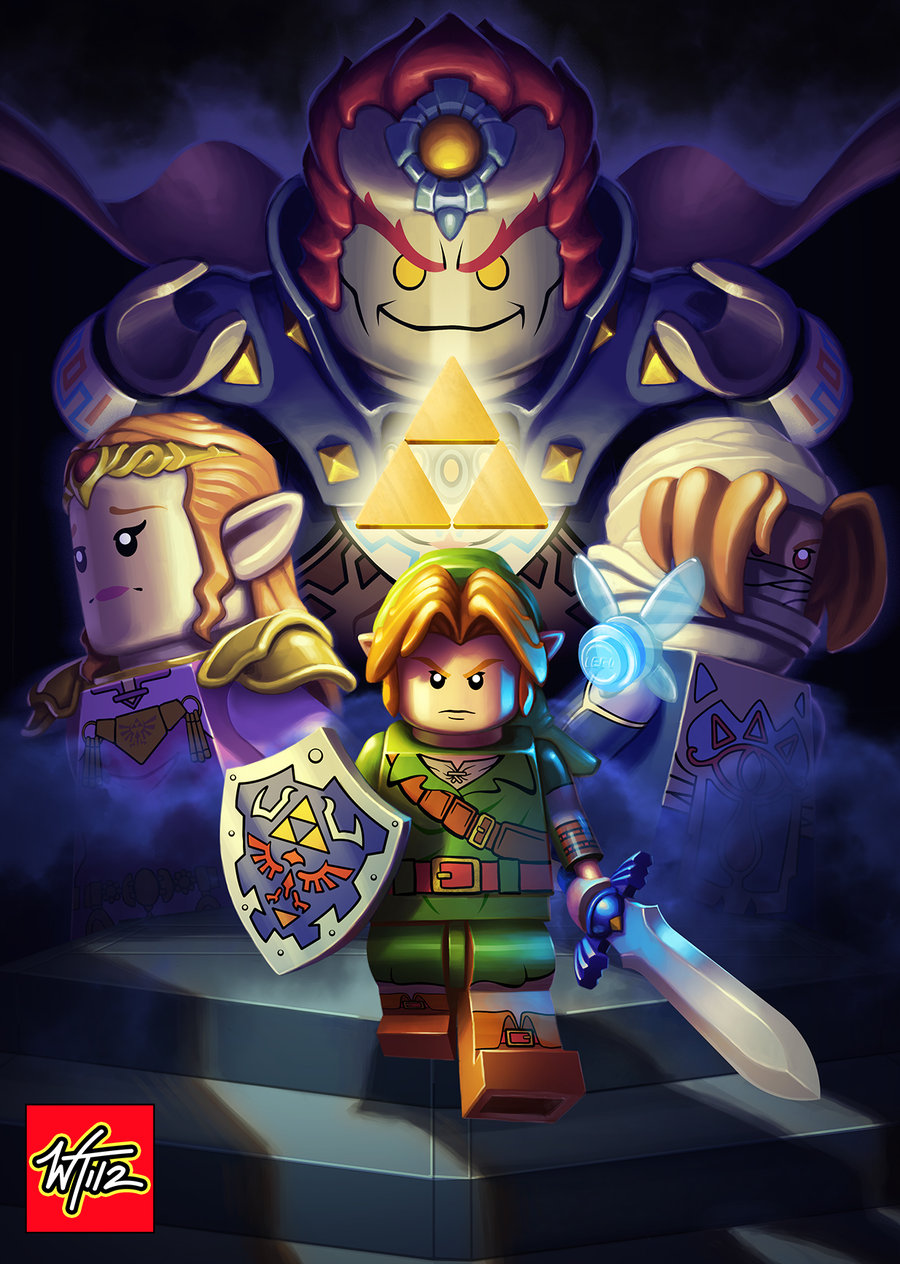 Legend of Zelda: Iron Knuckle Encounter Poster