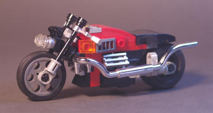 Lego911's Twin Pipe Cruiser, Motos