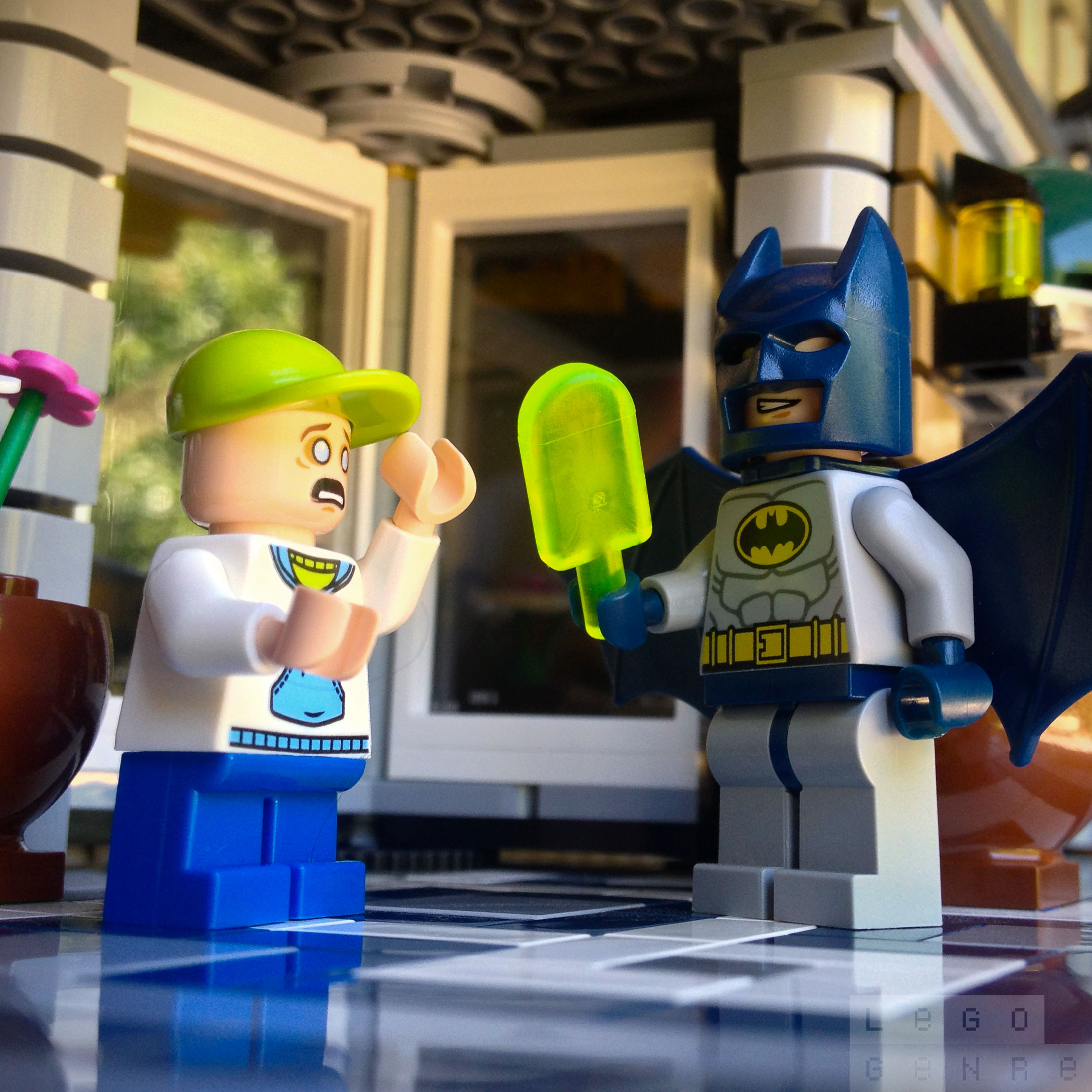 LegoGenre: Batman Is A Jerk