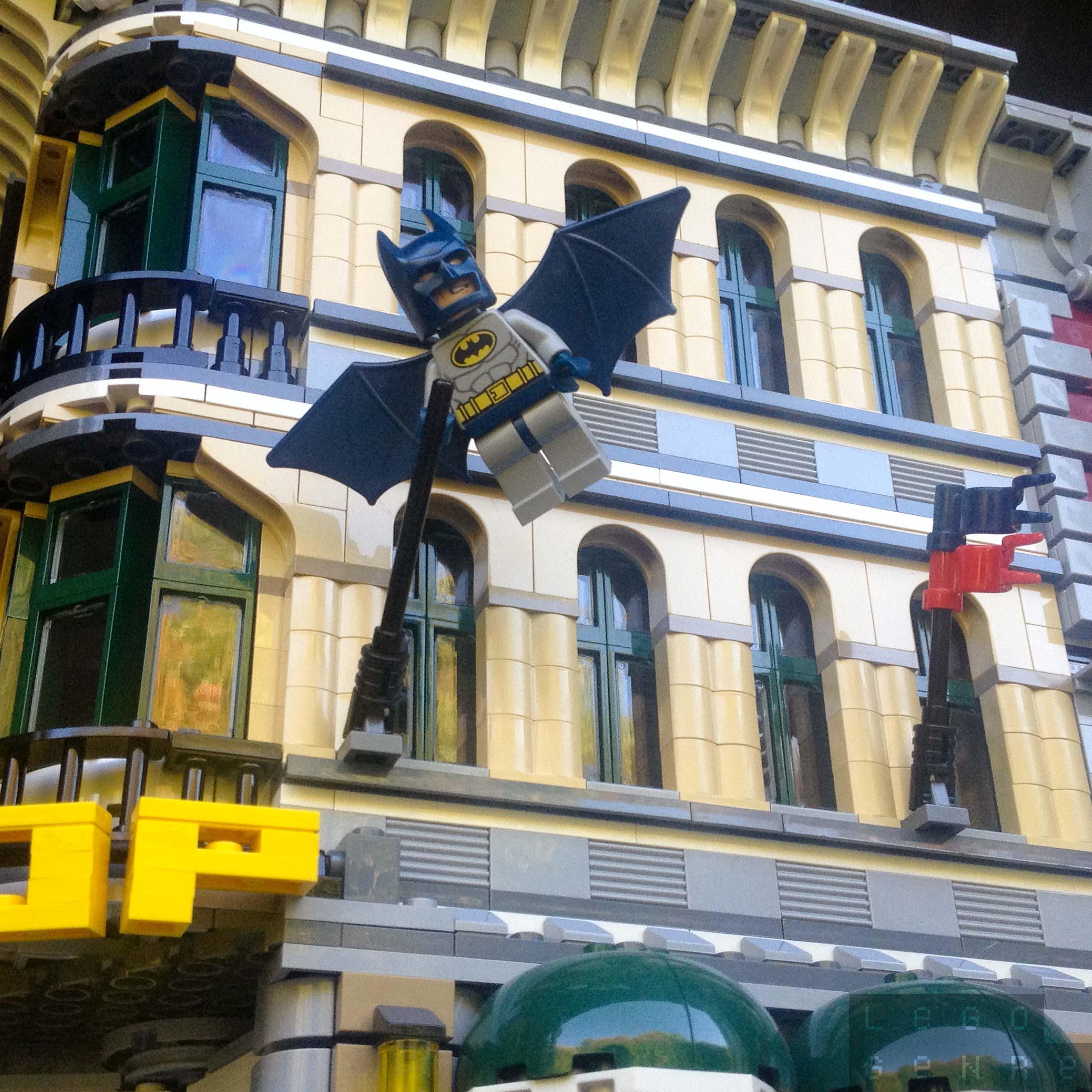 LegoGenre 00262: Batman On Patrol