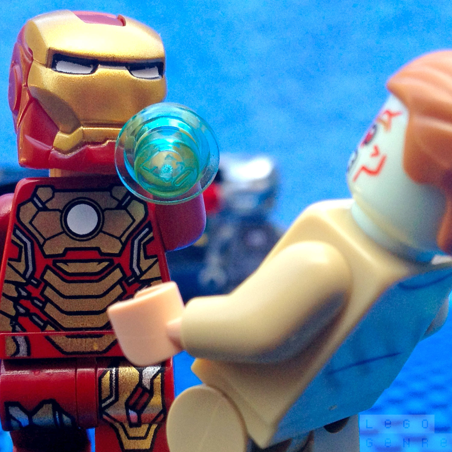 LegoGenre 00250: Iron Man Vs. Aldrich Killian