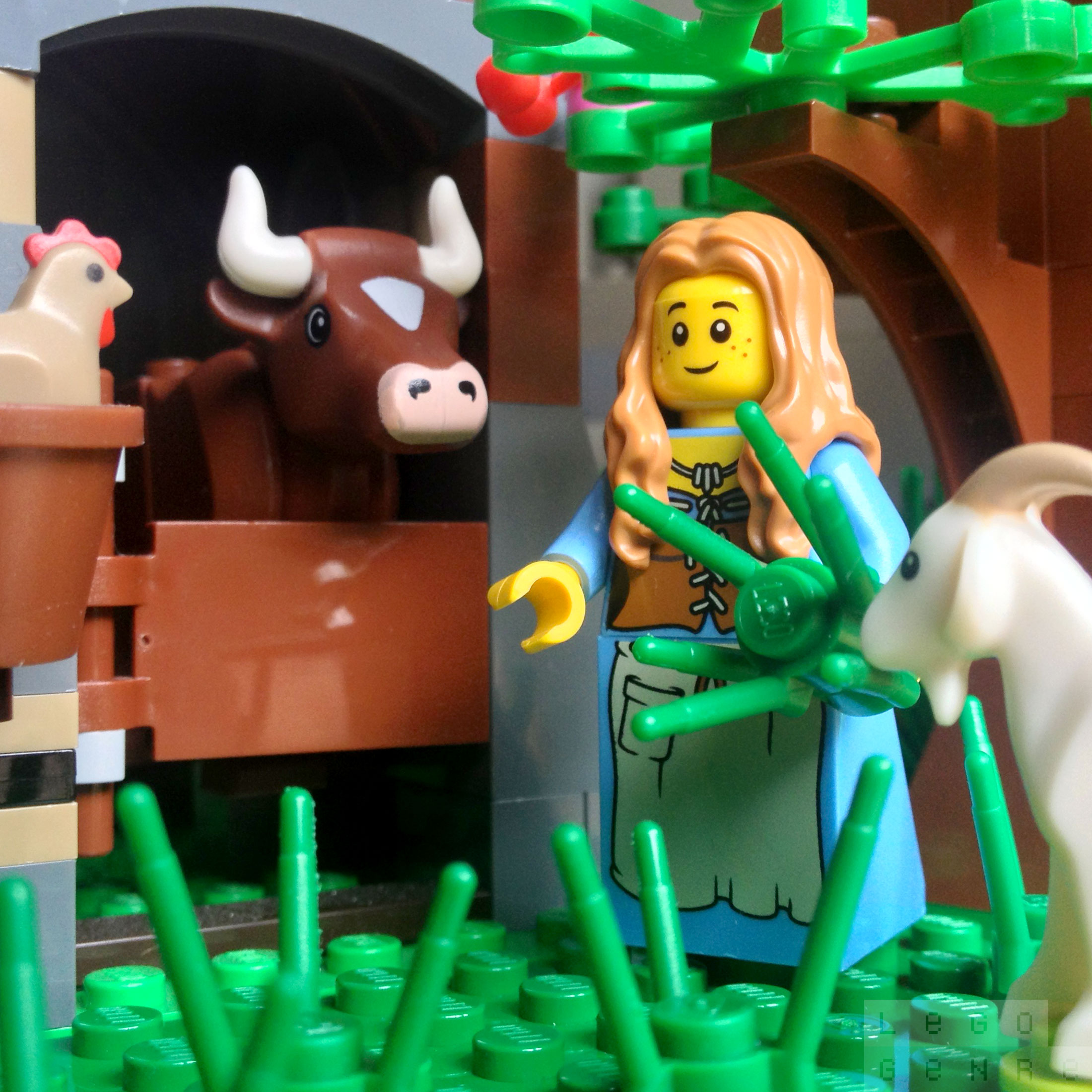 LegoGenre 00252: Morning Chores: Feeding Time