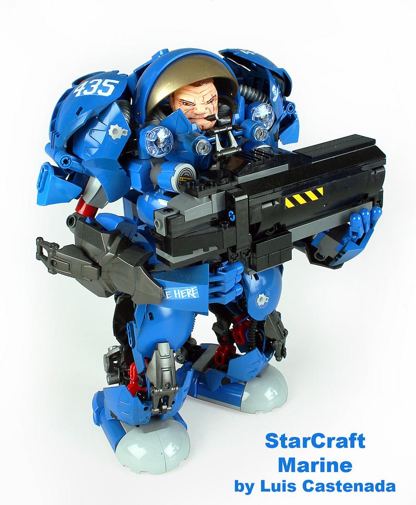 Luis Castenada's Lego StarCraft Marine