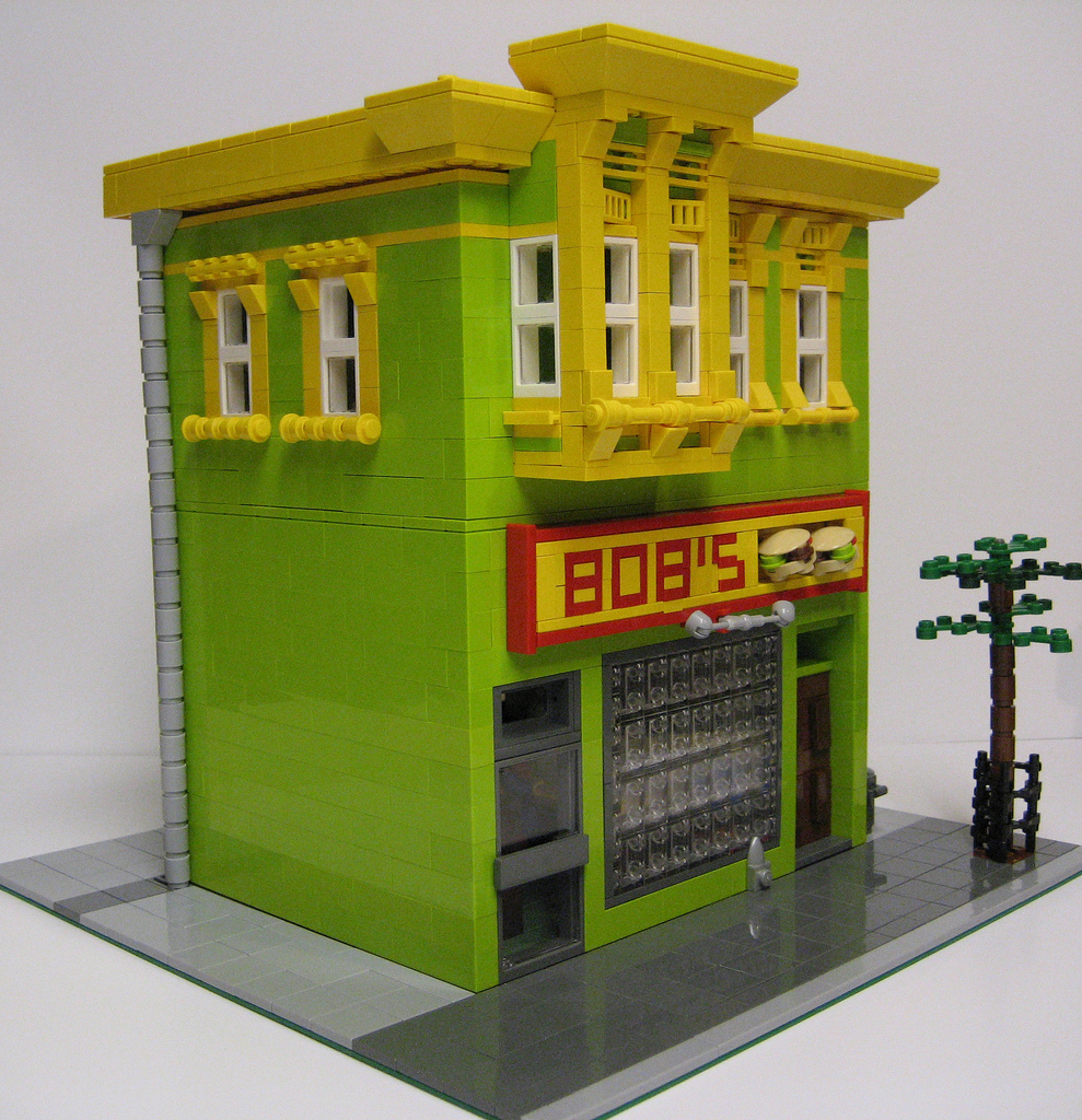 Plasmachild's Lego Bobs Burgers