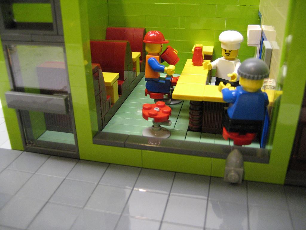 Plasmachild's Lego Bobs Burgers Inside