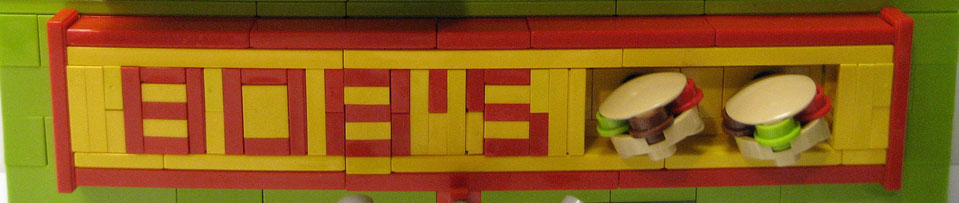 Plasmachild's Lego Bobs Burgers Sign