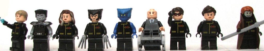 Ricky's Lego X-Men