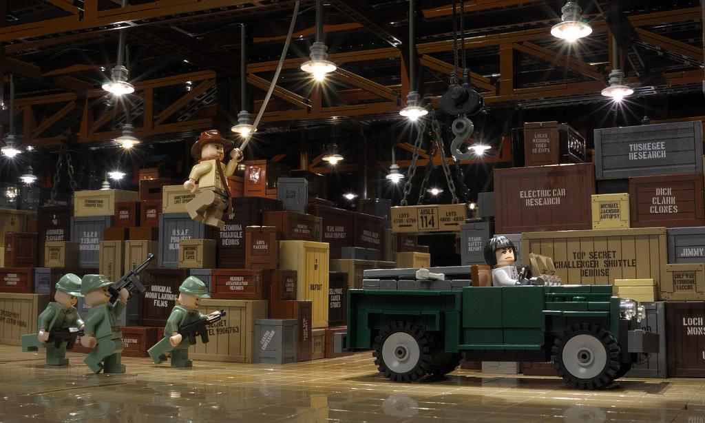 BMW_Indy's Indiana Jones: Warehouse