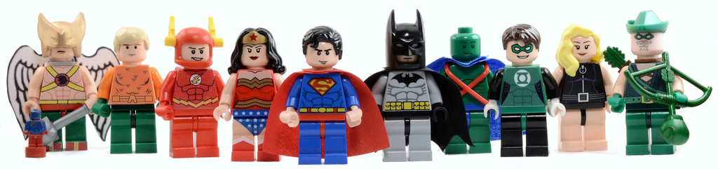 Bryant's Lego Justice League