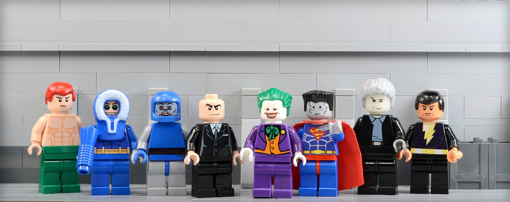 Bryant's Lego Justice League Villains