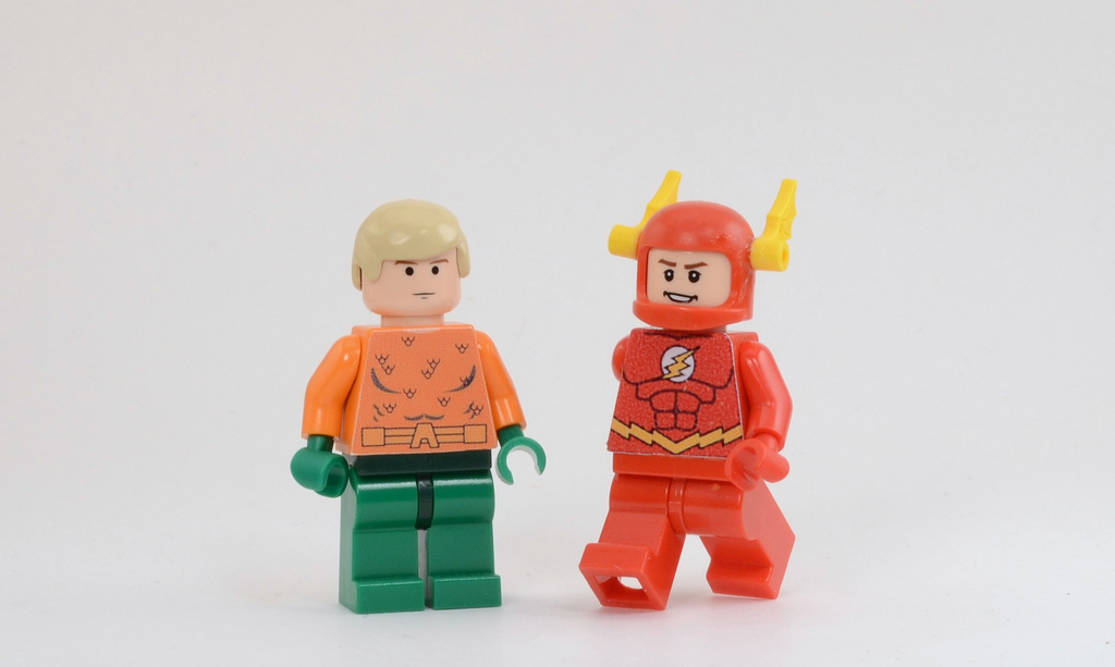 Bryant's Lego Justice League: Aquaman & Flash