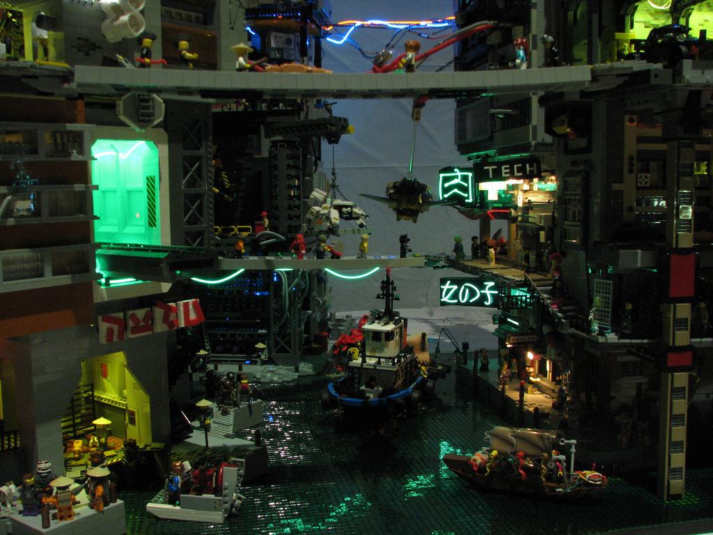 ChrisEdwards's Cyberpocalypse A Lego Cyberpunk City 2