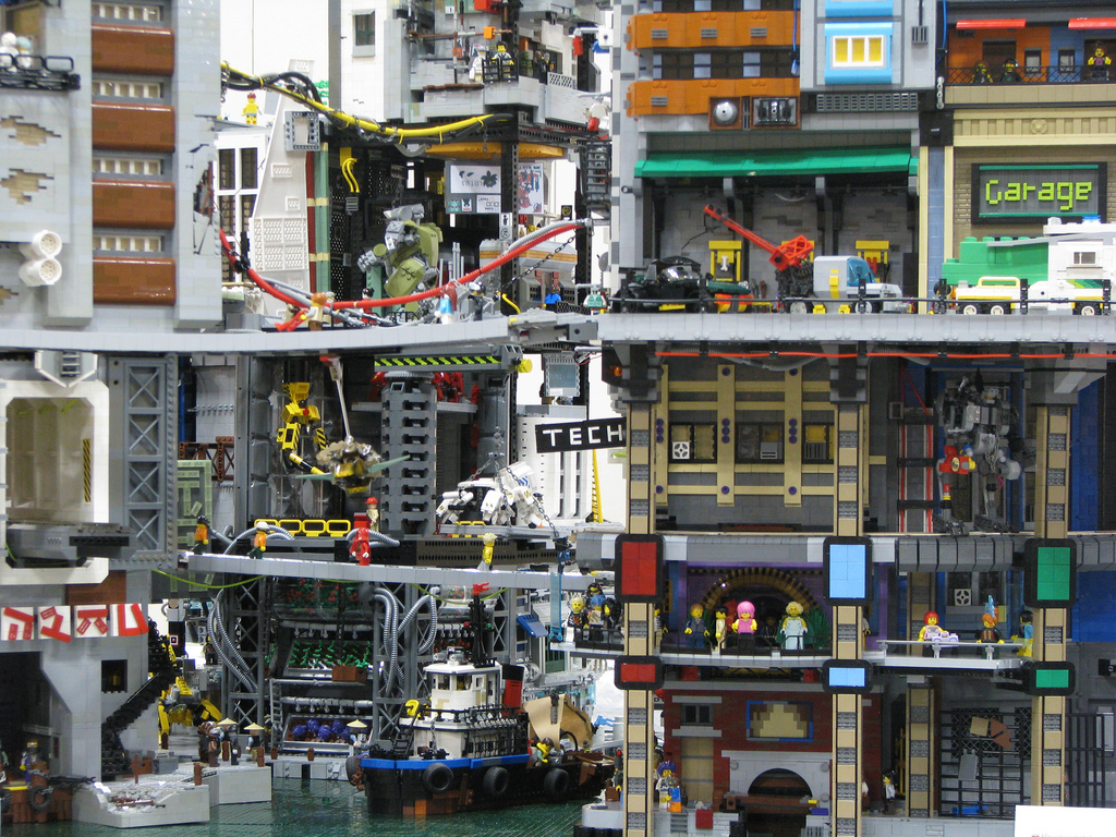 ChrisEdwards's Cyberpocalypse A Lego Cyberpunk City 3