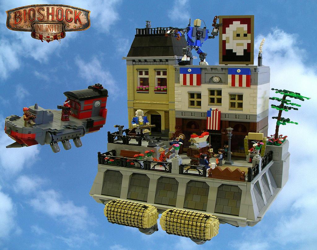 CoolWhip's Lego Bioshock Infinite: Beast Of America