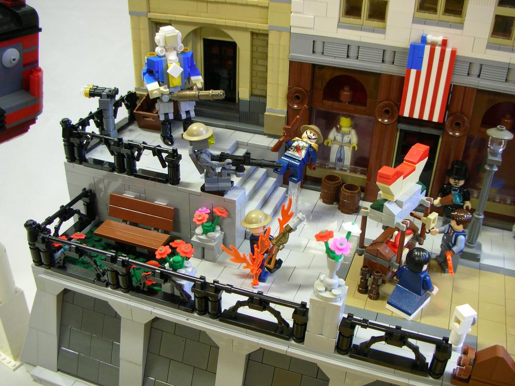 CoolWhip's Lego Bioshock Infinite: Beast Of America Detail
