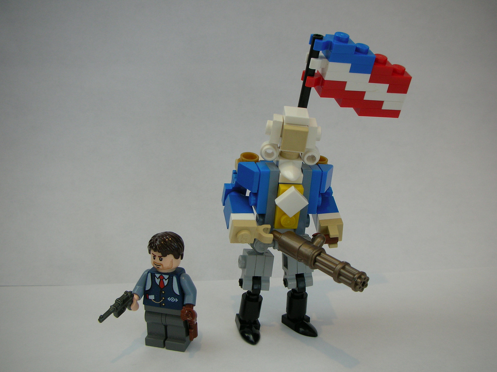 CoolWhip's Bioshock Infinite: Lego Tin Soldier