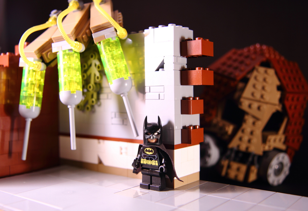 Cpt Brick's I See You Batman Arkham Asylum