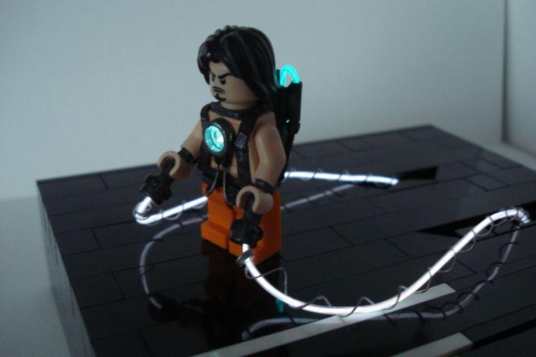 Dawn of the Brick's Lego Iron Man 2 Whiplash 1