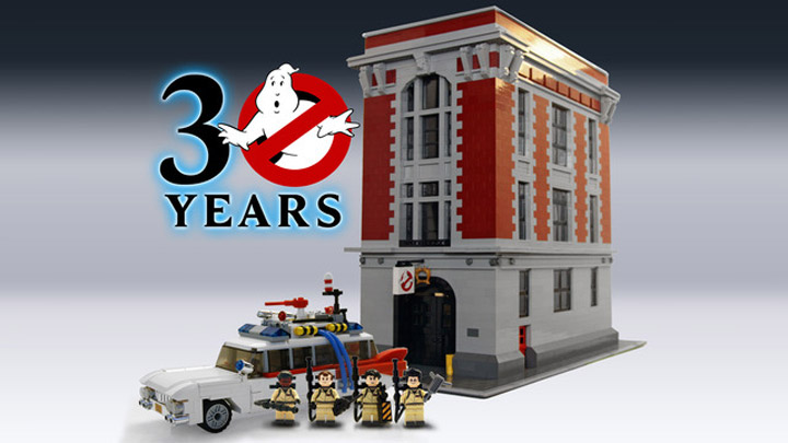 Ghostbusters Cuusoo Project: Building